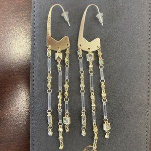 Kendra Scott Corza Gold Statement Earrings